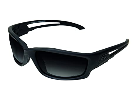 f62dcac46a Image Unavailable. Image not available for. Color  Edge Tactical Eyewear  TSBRG716 Blade Runner Matte Black with Polarized Gradient Smoke Lens