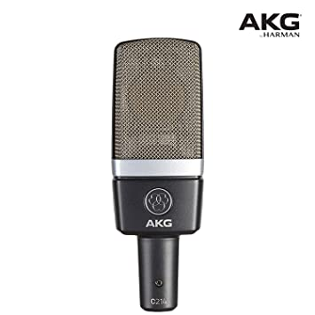 AKG C214 Cardioid Condenser Microphones (Grey) Condenser at amazon