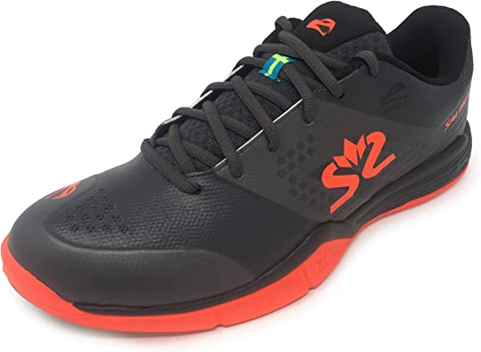 Salming Mens Gents Hawk Lace Up Indoor Squash Trainers Sneakers Sports Shoes