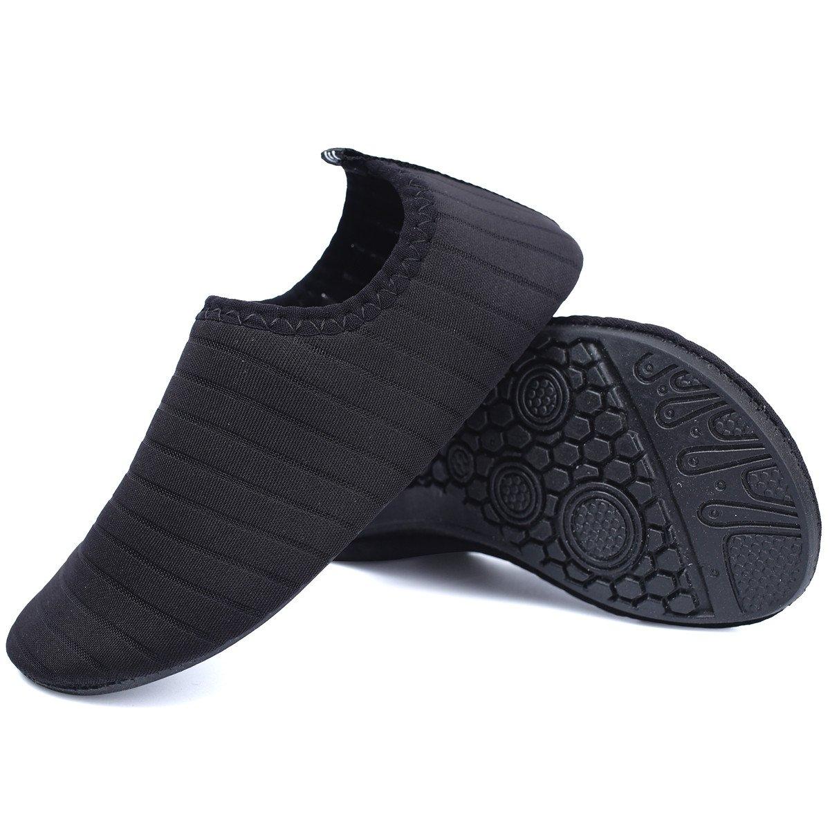 JIASUQI Kids Boys and Girls Summer Athletic Water Shoes Aqua Socks for Beach Swimming Pool JIASUQI-CT02C