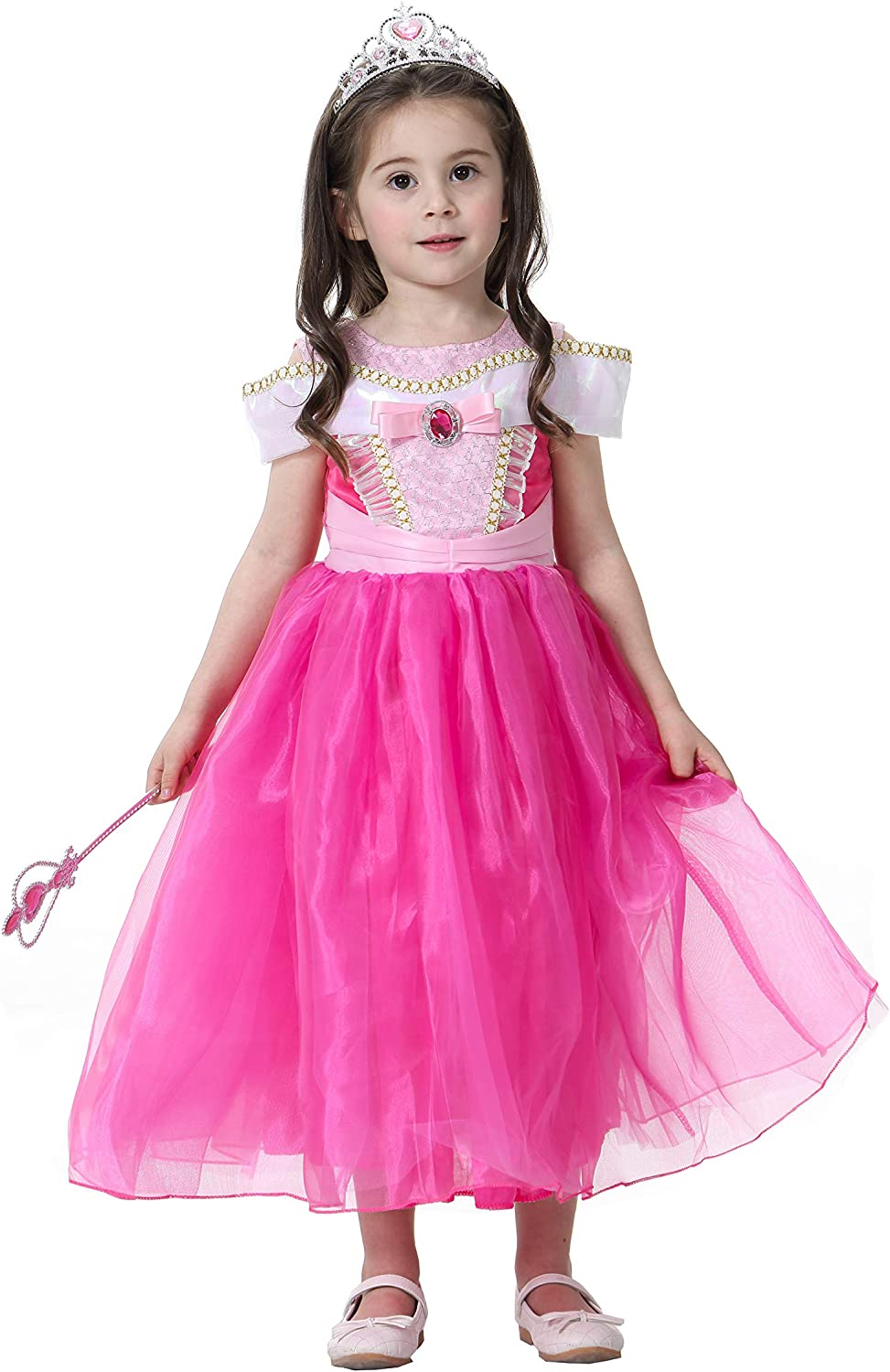 Best Home /& Baby Girls Sleeping Beauty Princess Dress Altezza