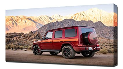 Amazon com: Lilarama USA 2019 Mercedes AMG G63 V2 - Canvas