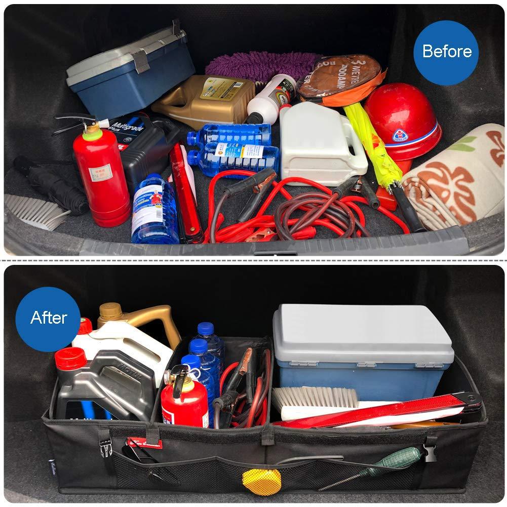 Amazon.com: Home Innovation Organizador de maletero para SUV ...