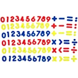 SpriteGru 102pcs Magnetic Numbers for Basic Math Mathematics Education