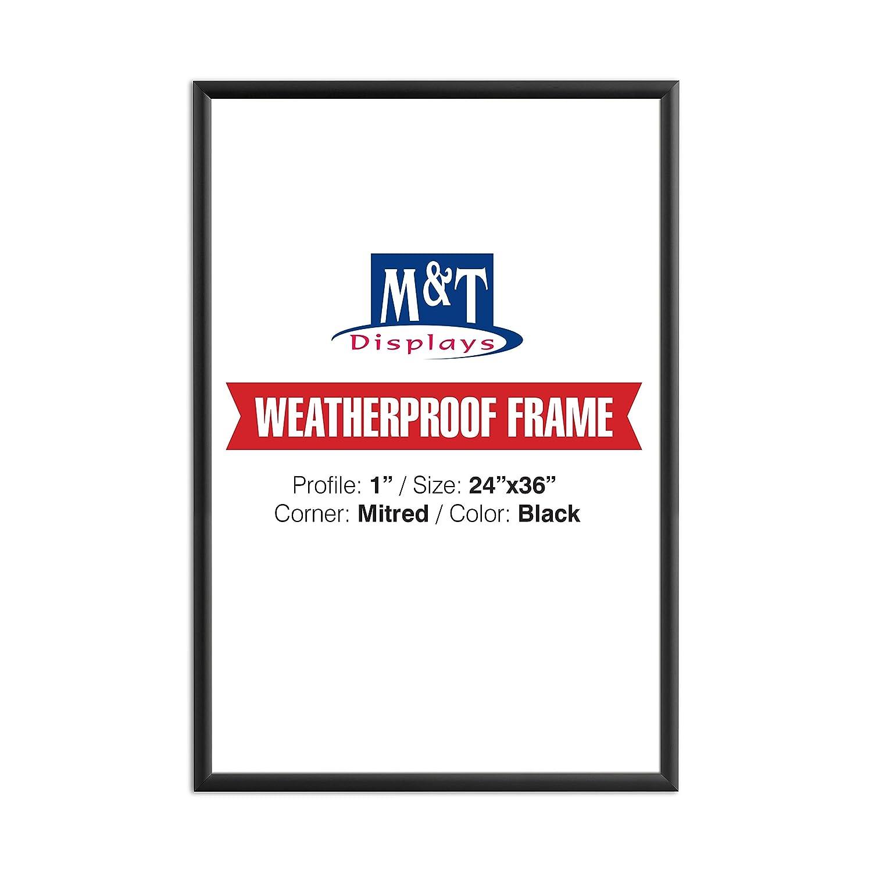 Amazon.com: Weatherproof Frame, 24X36 Poster Size, 1\