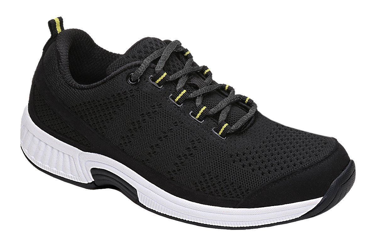Orthofeet Coral Women's Comfort Orthopedic Arthritis Diabetic Orthotic Sneakers Black Synthetic 8.5 M US by Orthofeet