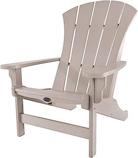 product image for Nags Head Hammocks Sunrise Adirondack Chair, Weatherwood