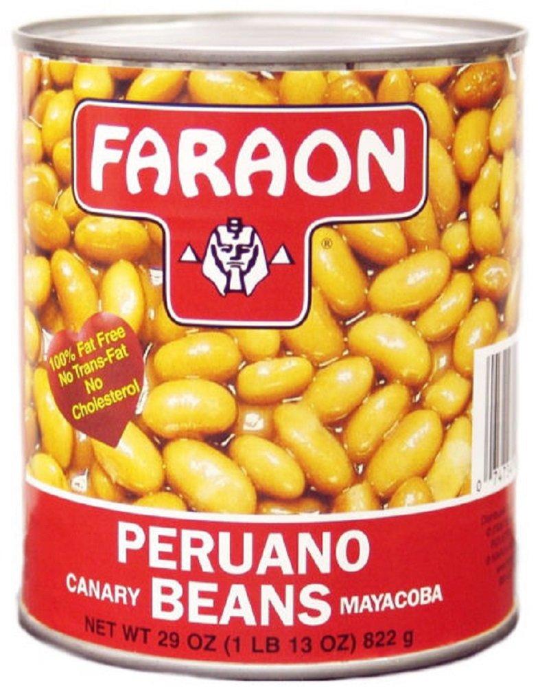 FARAON Mayacoba Beans, 29 Ounce (Pack of 12)