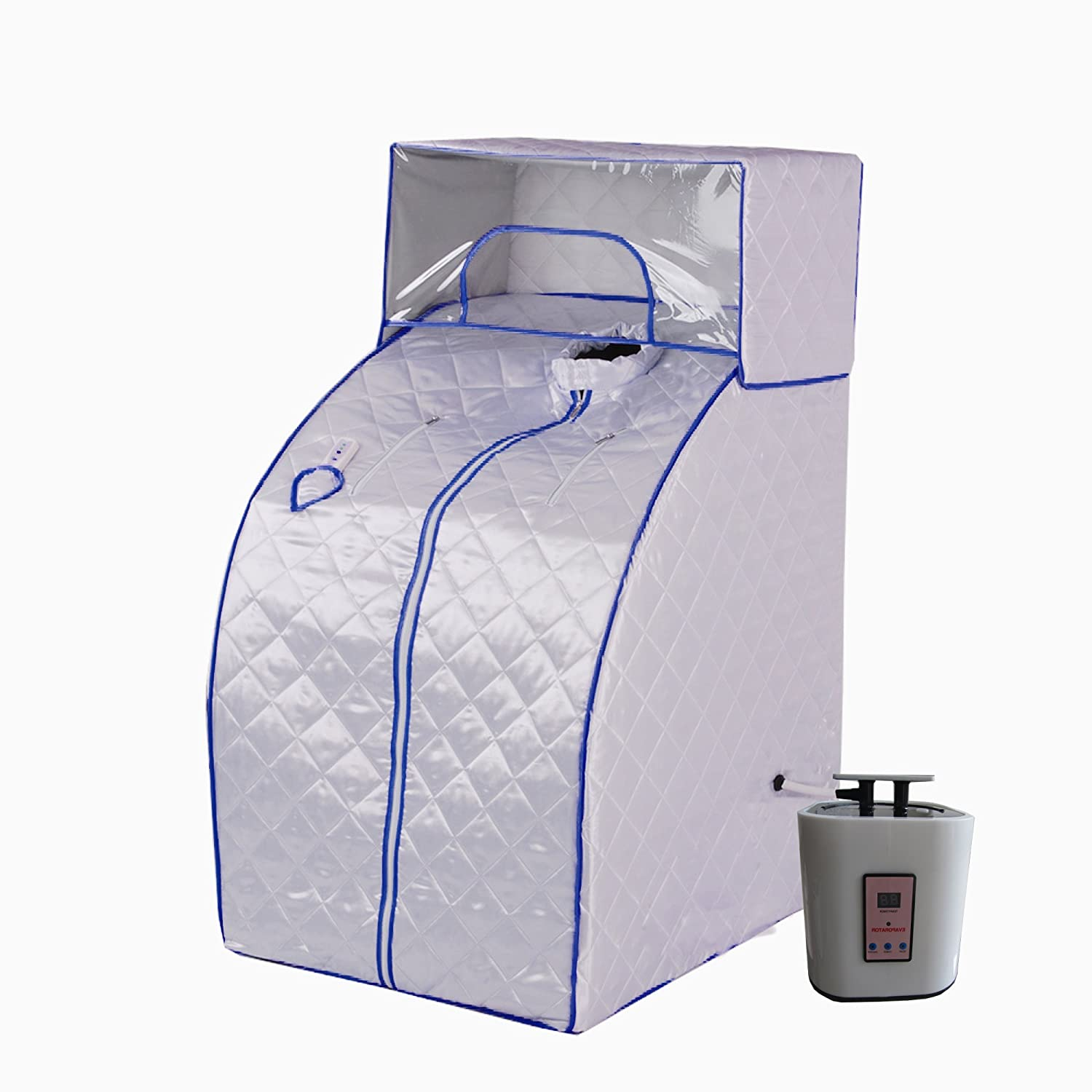 Portable Therapeutic Steam Sauna Spa Detox-Weight Loss with head cover, SS04 fit for good