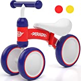 Peradix Baby Balance Bikes Adjustable Bicycle 12-36 Months Toddlers Walker   Riding Toys for 1 2 3 Year Old Children Boys Gir