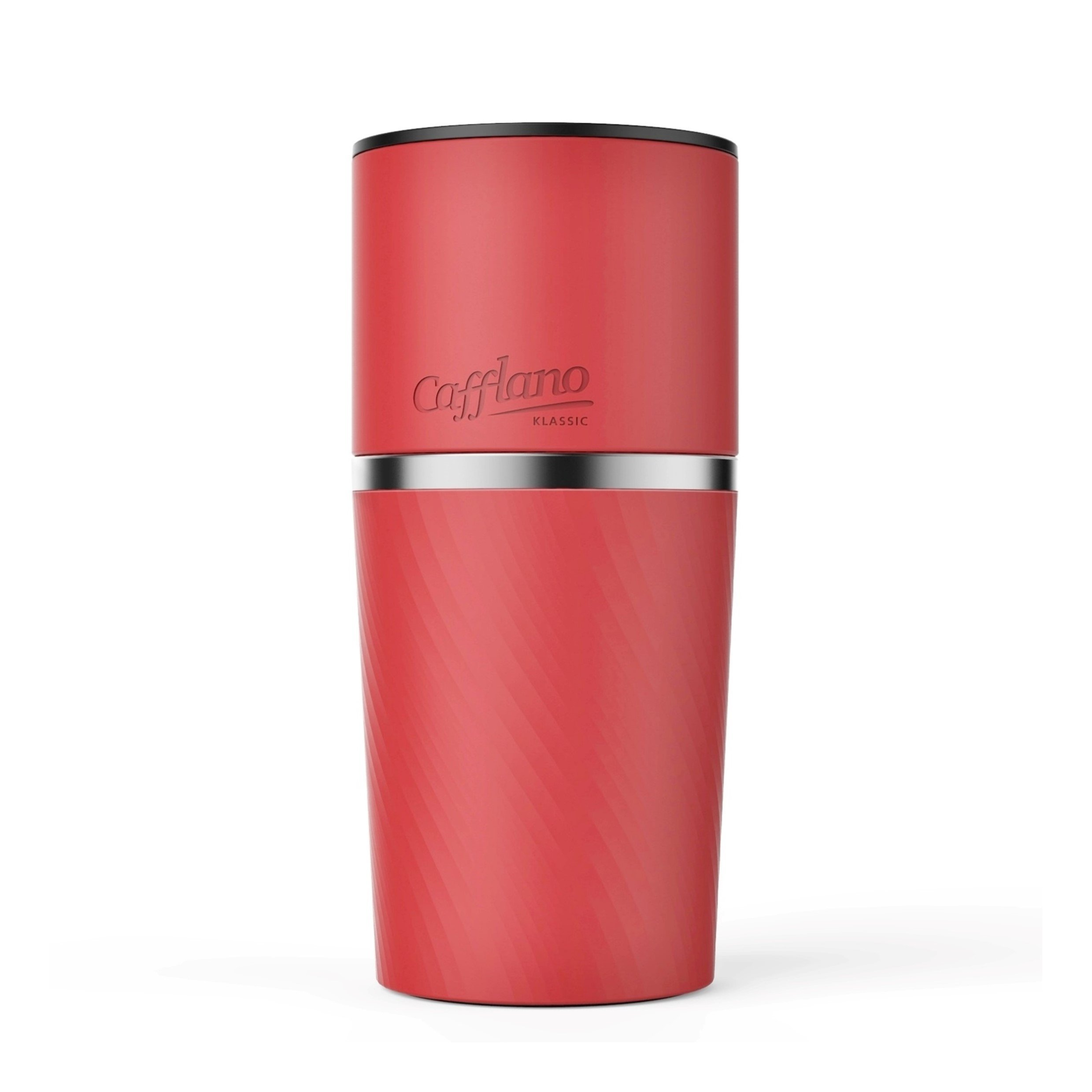 Cafflano Klassic Red Pour-Over Coffee Maker by Cafflano