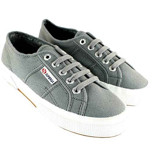 Superga Cotu Damen Low Sneaker Grau