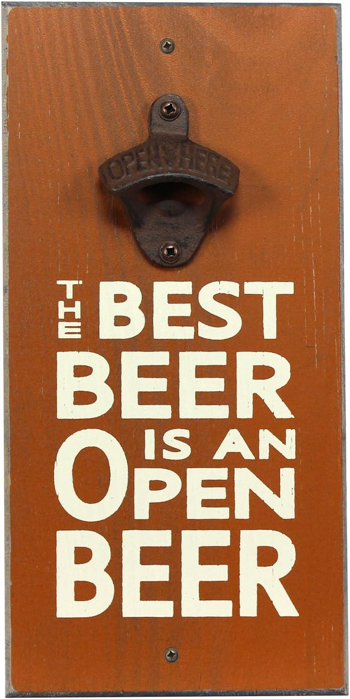 私の言葉!ベストオープンビールの栓抜き、6 x 12