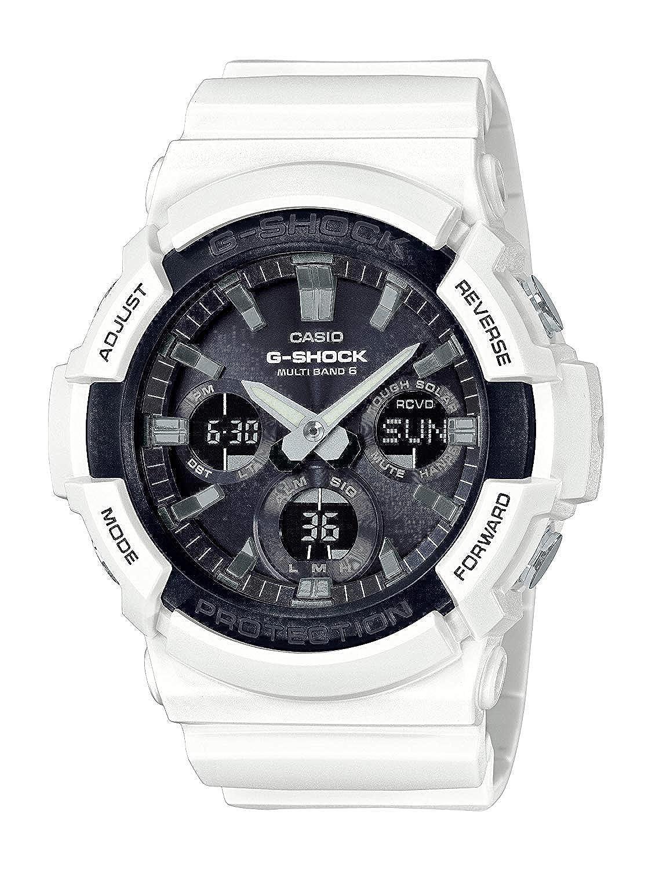 Casio Reloj Analogico-Digital para Hombre de Cuarzo con Correa en Resina GAW-100B-1AER: Amazon.es: Relojes