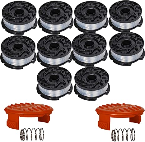 12 PK 0.065 String Trimmer Spool Line 30 FT Ryobi Autofeed Replacement