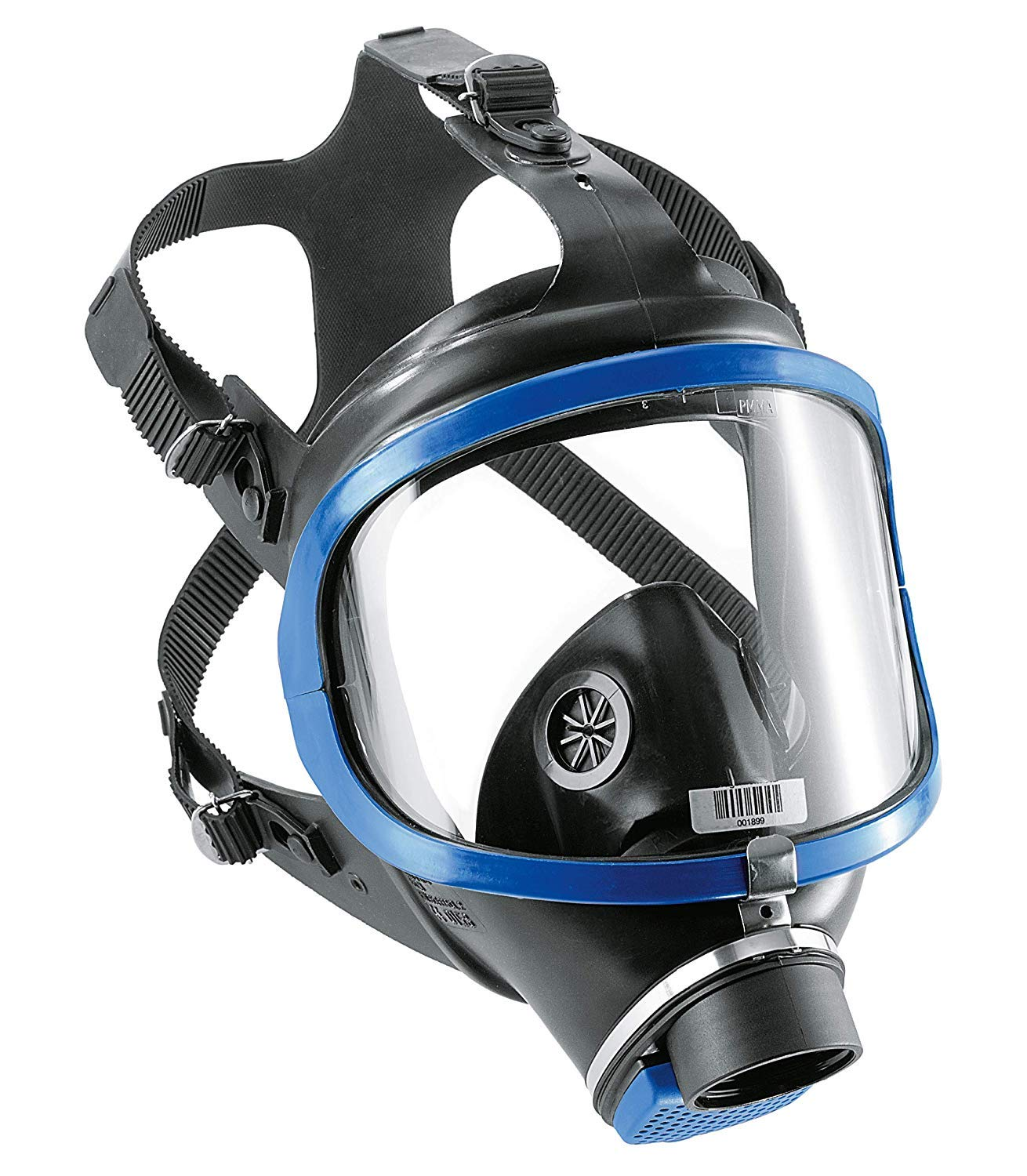 Dräger X-plore 6300Full-Face Respirator Mask | NIOSH Certified | Eye and Respiratory Protection | Anti-Fog | 180° Field of View | Universal Size by Dräger (Image #1)