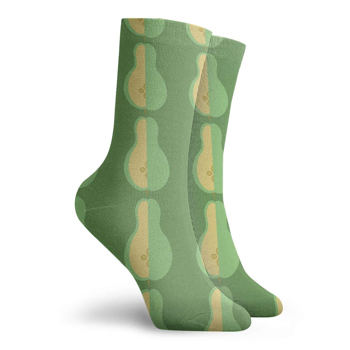 YIEOFH Retro Kids Safari Lion Wildlife Novelty Boys Girls Fashion Cute Funny Casual Art Crew Socks