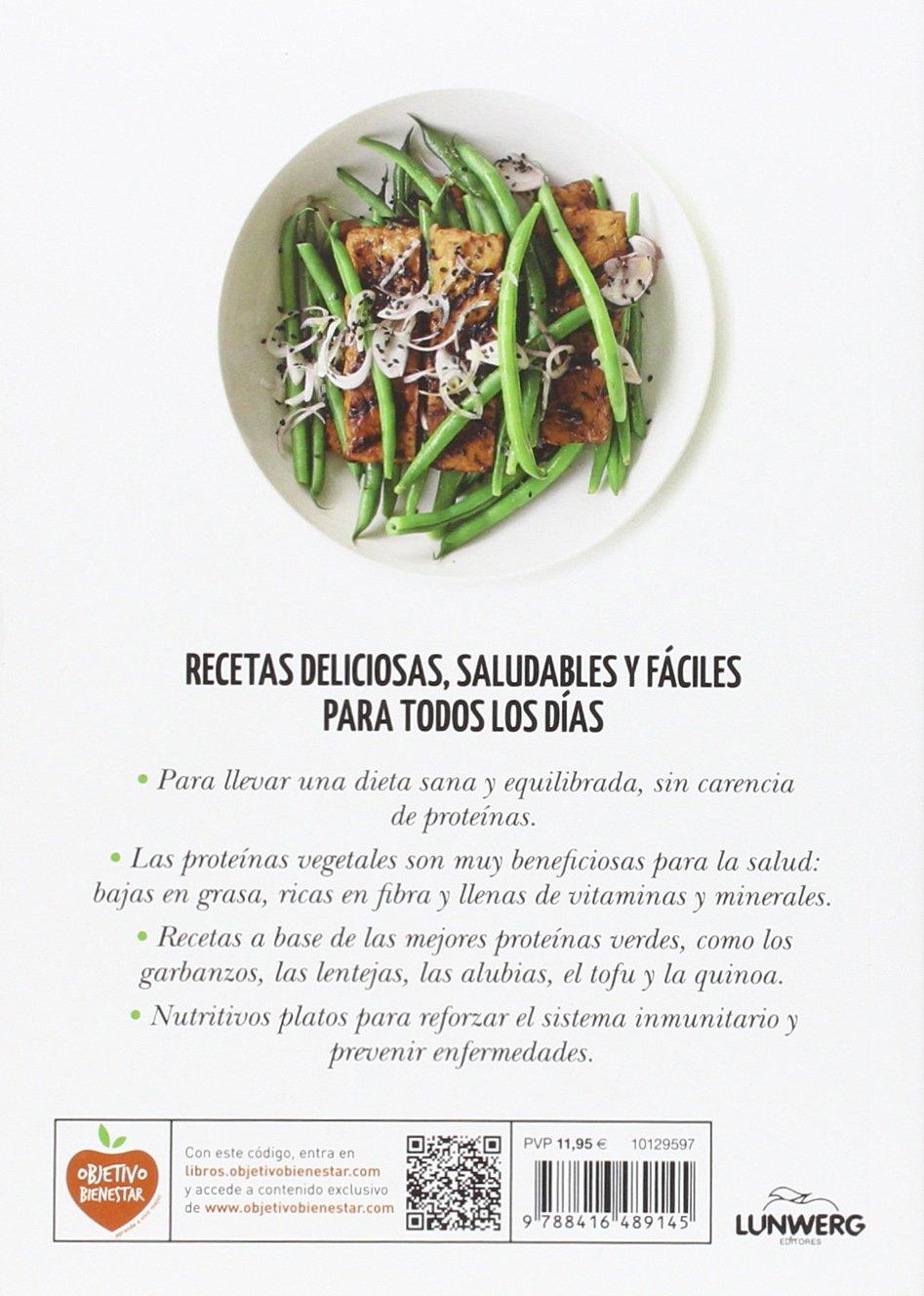 Proteínas vegetales: 66 recetas antioxidantes Come Verde: Amazon.es: Fern Green, Vicente Villacampa Armengol: Libros