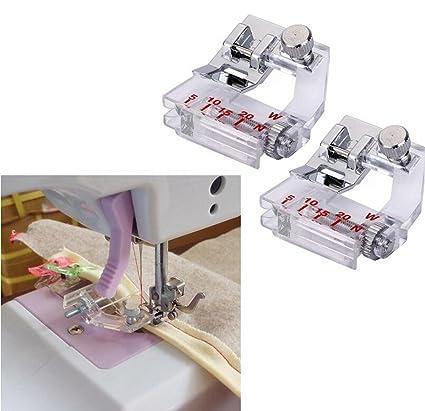 Amazon ZHONGJIUYUAN 40 Piece Tape Binding Sewing Machine Presser Best Binding Sewing Machine
