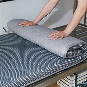 Sleeping Tatami Floor Mat, Breathable Futon Tatami Mattress Pad Soft Thick Japanese for Student Dormitory Mattress-d Queen
