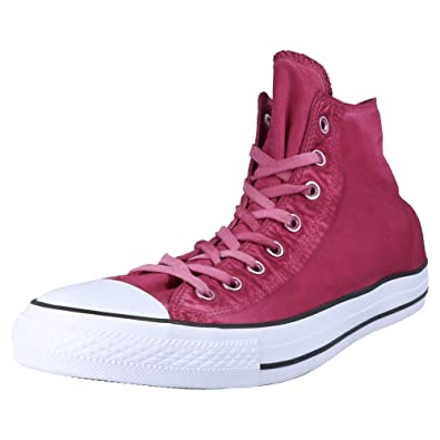 d10ec19404e Converse Chuck Taylor All Star Kent Wash Unisexe Baskets Mode Rouge ...