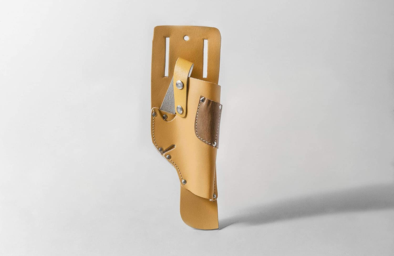 Akifix NE12001 - Funda para atornillar, de cuero engrasado