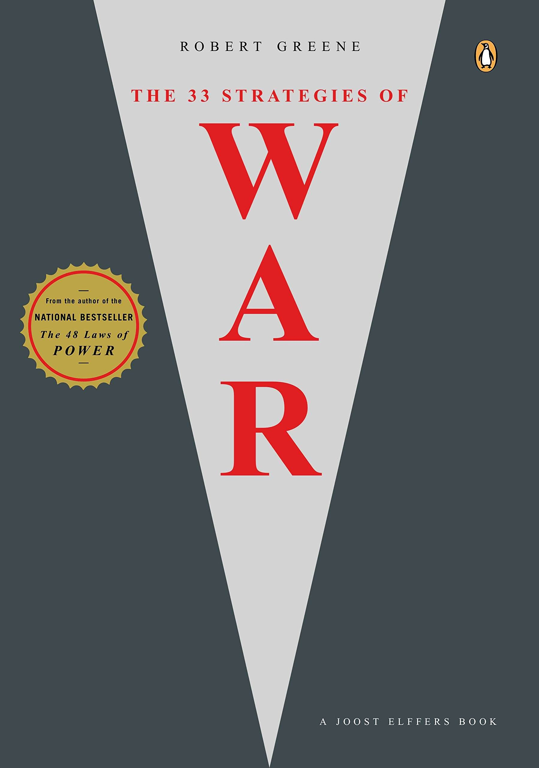 the 33 strategies of war joost elffers books