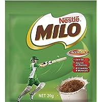 NESTLÉ MILO Chocolate Malt Powder Drink Sachets, 100 Sachets, 100 x 20g
