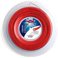 YTEX Hexagon-X Pearl Red - Cuerda para Raqueta de Tenis (16 L, 1,25 mm)