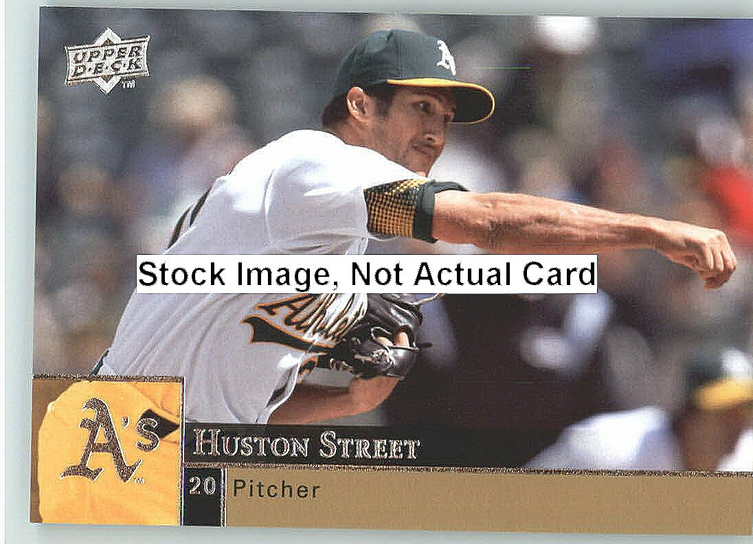 Upper Deck 2009 Baseball Card#286 Huston Street (athlétisme) cartes à collectionner dans un Protrective à visser