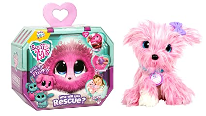 2d2764f86 Amazon.com: Little Live Scruff-a-Luvs plush rescue pet, pink: Toys ...