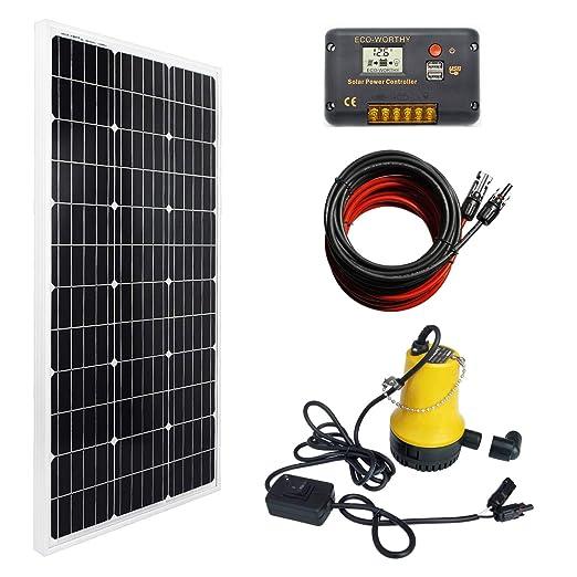 DC HOUSE - Sistema de Bombeo con energía Solar, Panel ...