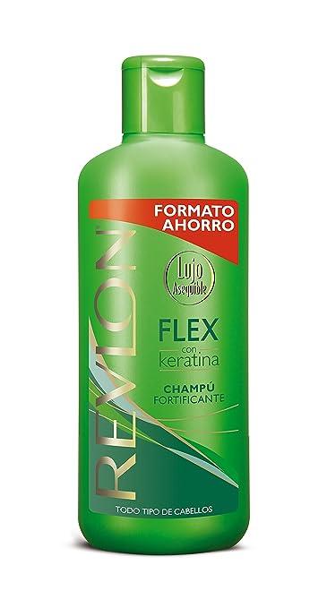 Revlon Flex Champu Fortificante Con Keratina Shampoo Fortifier 650 ml 22 oz