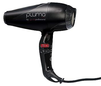 Ga.Ma Pluma 4500 - Secador de pelo por iones, color negro: Amazon.es: Salud y cuidado personal