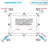 PATIO Paradise Heavy Duty Shade Sail Hardware Kit