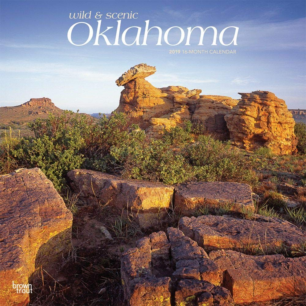 Calendars オクラホマ 野生と風景の壁掛けカレンダー その他の米国  Oklahoma Wild and Scenic Wall Calendar B07GZYWFM5