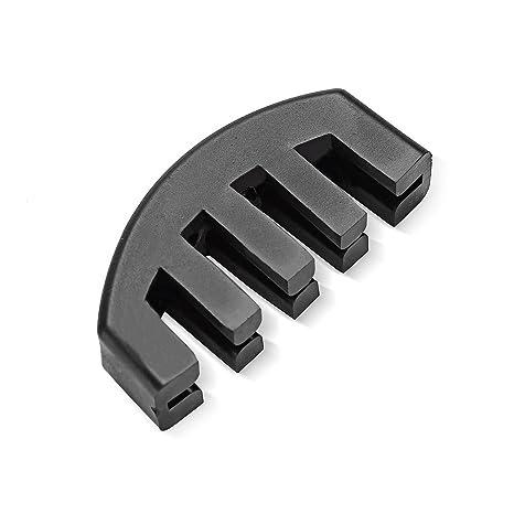/Design in Acciaio Inox Porta Stopper Titolare Puffer/ /1/Pezzi Oxid7/Fermaporta Buffer di Porta Piatto Circa 10/x 4/cm in Acciaio Inox con Circa 1,2/kg per Porte Pesanti/