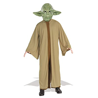 Star Wars Child's Yoda Costume, Medium: Toys & Games