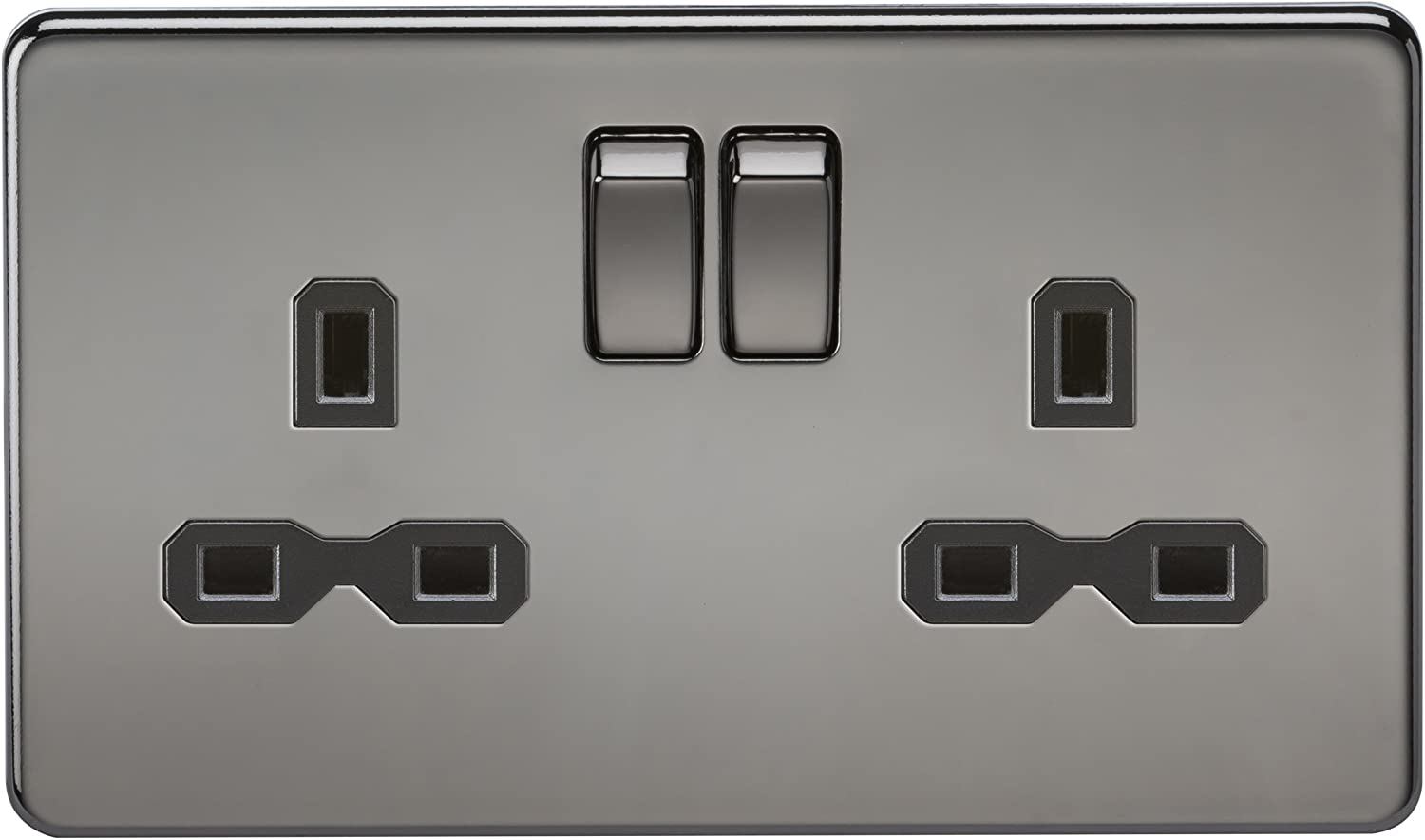 Knightsbridge 13 Amp 1 Gang Double Pôle Switched Socket SN7000