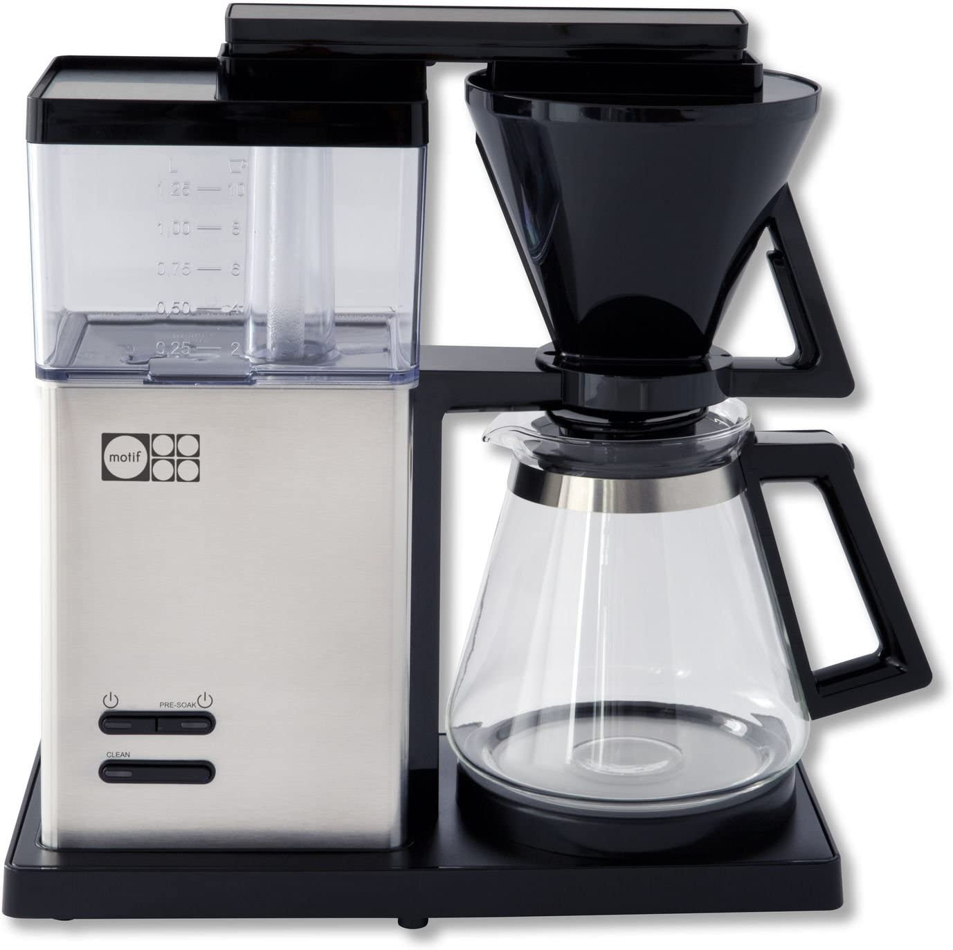 Motif Essential Pour-Over Style Coffee Brewer with Glass Carafe