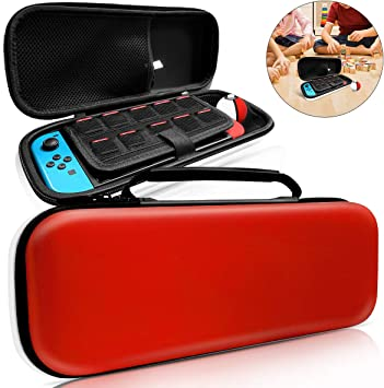 Nintendo Switch Case, [10 ranuras de juego y se adapta a Pokeball ...