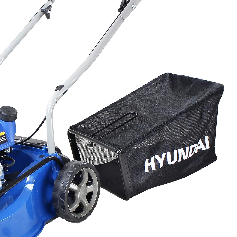 Hyundai HYM400P - Cortacésped giratorio de gasolina (99 cc, 4 ...