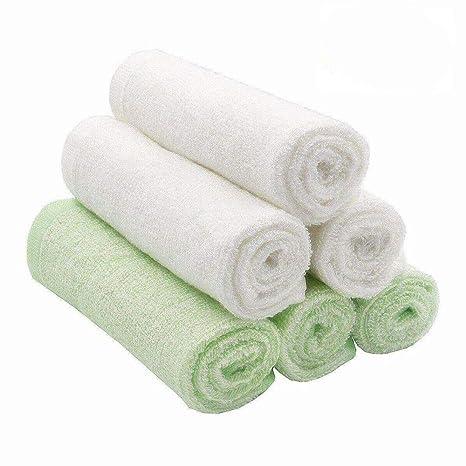 8cc2a0e1f175ae Bamboo Baby Washcloths - Carly Shop (6-Pack) Baby Muslin Washcloths ...