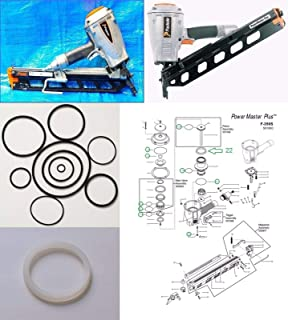 2,5x45mm Ring blank Tjep ZE Duo Fast Paslode Coiln/ägel 0/° plastmagaziniert