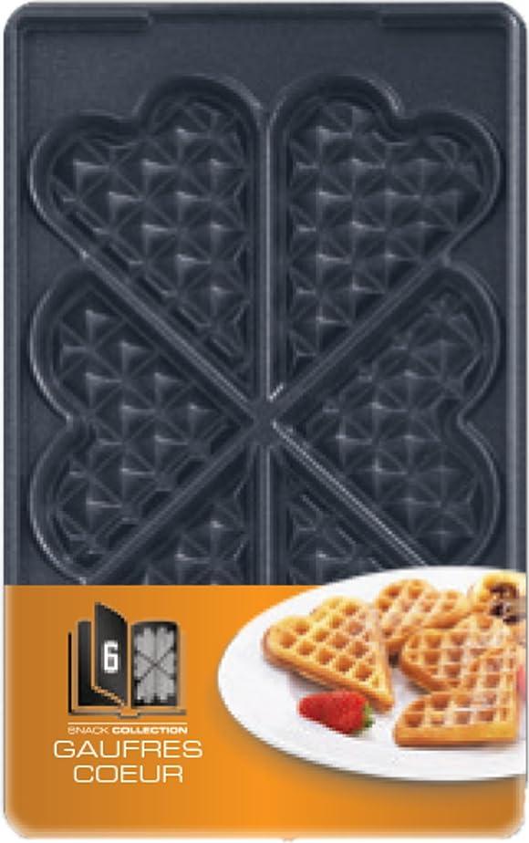 Tefal XA800612 Snack Collection Coffret de Plaque pour Gaufre ...