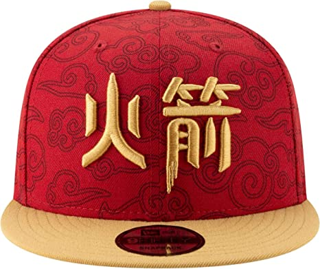 size 40 c7eae 4dee0 Image Unavailable. Image not available for. Color  New Era Men s Houston  Rockets 9Fifty City Edition Adjustable Snapback Hat