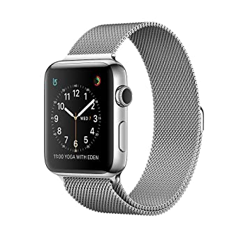Apple Watch Series 2 Reloj Inteligente Stainless Steel OLED GPS (satélite) - Relojes Inteligentes