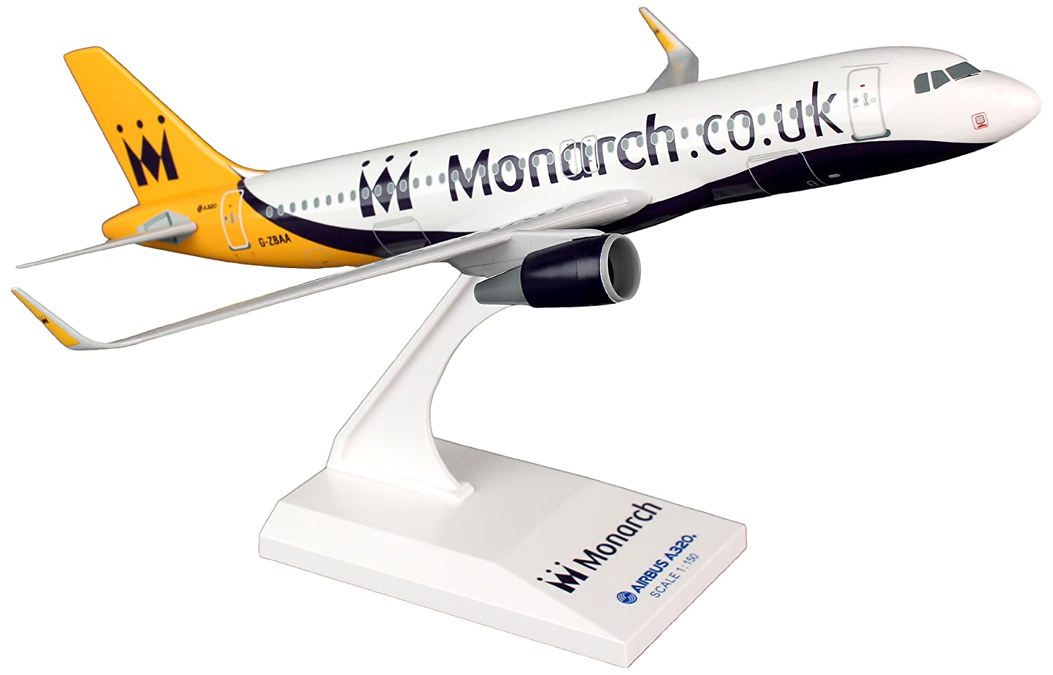 Skymarks	SKR734	Monarch Airbus A320 1:150	Snap-Fit Model