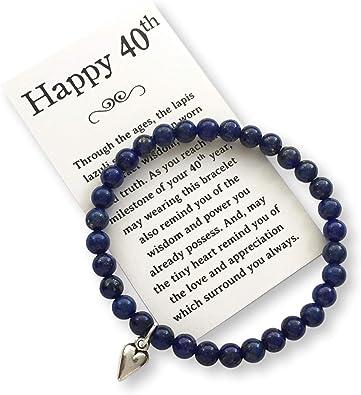 Happy 40th Bead Bracelet