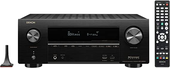 Denon AVR-X2600H 4K UHD AV Receiver | 2019 Model | 7.2 Channel